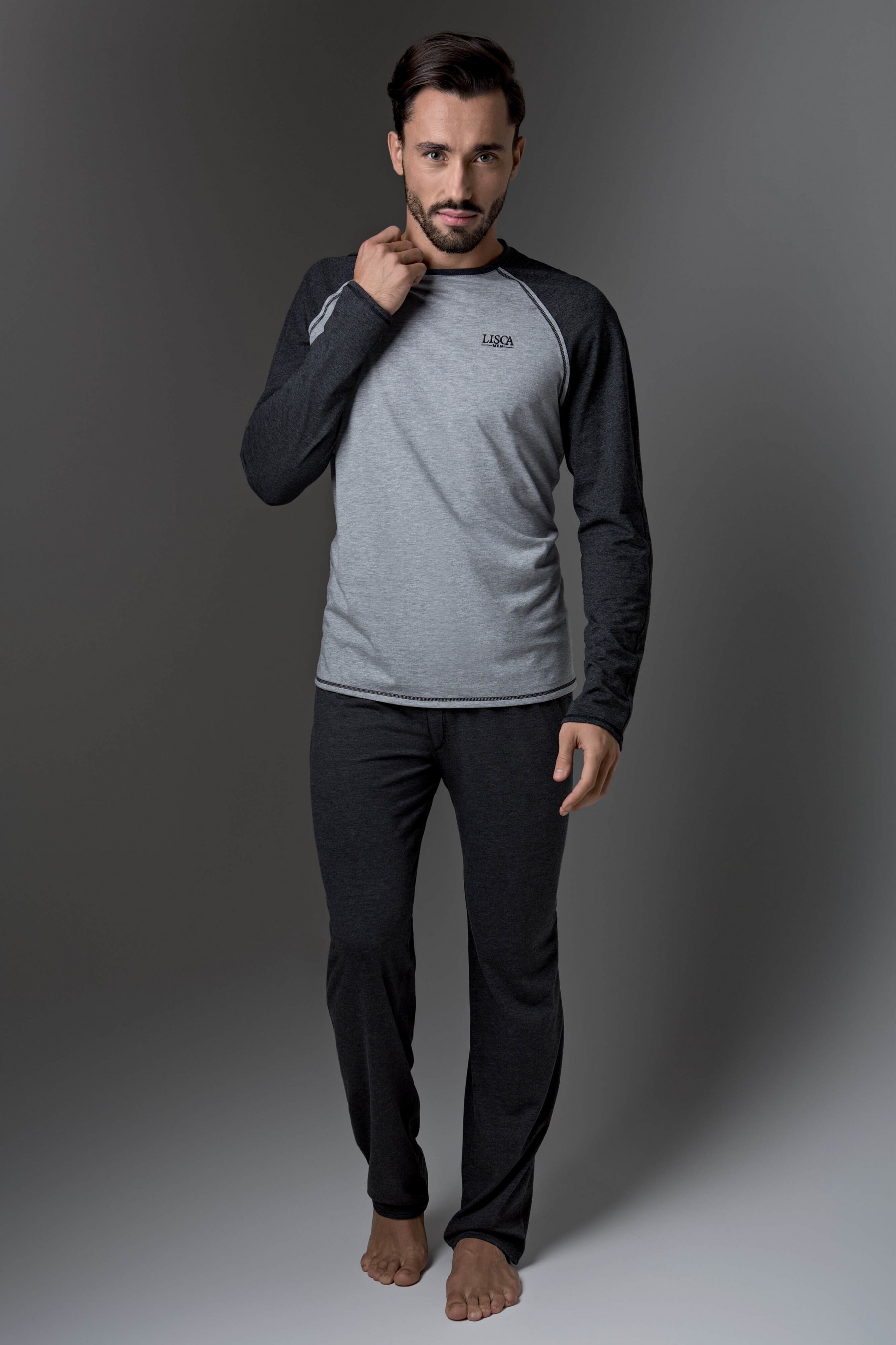 check out 1aa49 2bba9 Herren Pyjama mit langen Hosen »Thor« - Moderne Dessous, BHs ...