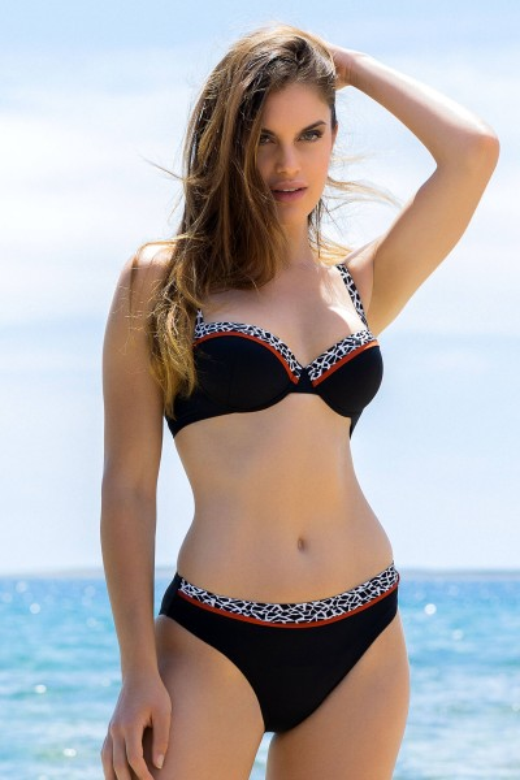 Bikini-Oberteil mit Schalen »Utila«