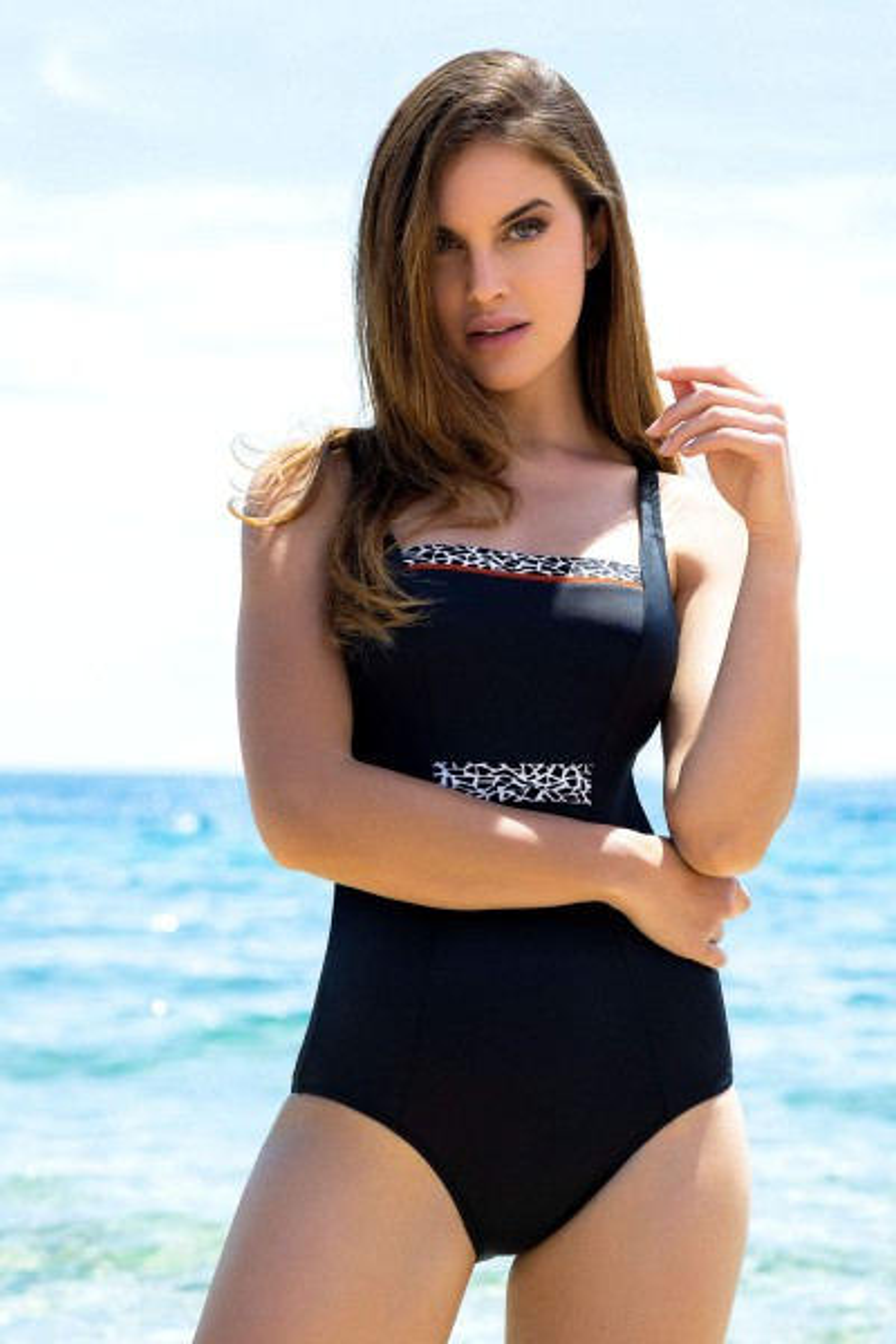 Badeanzug mit Bügel »Utila«