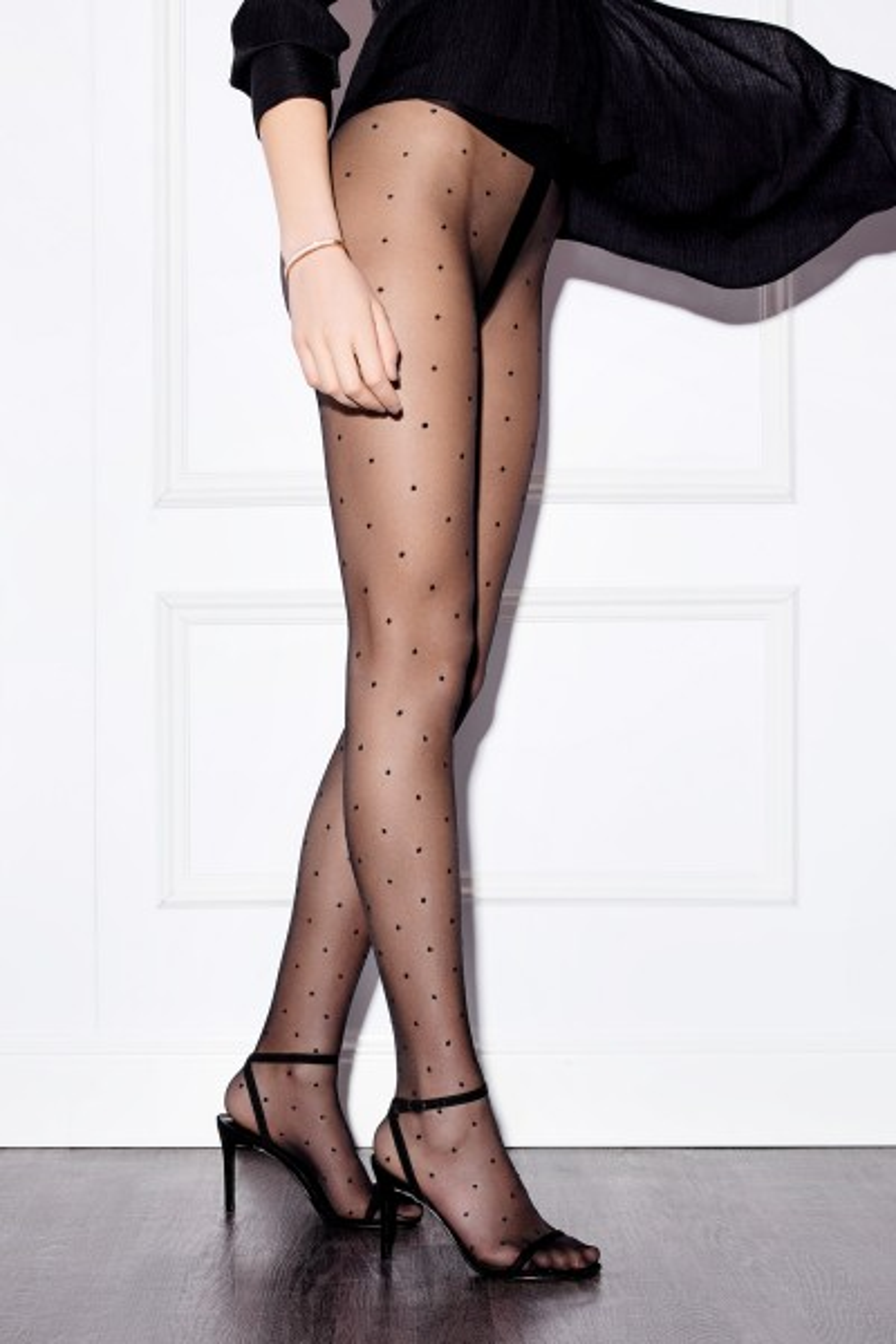Modische Strumpfhose Fashion Dots 20