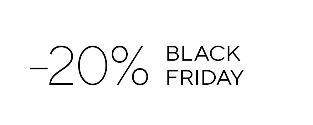 Black Friday – 20% Rabatt!