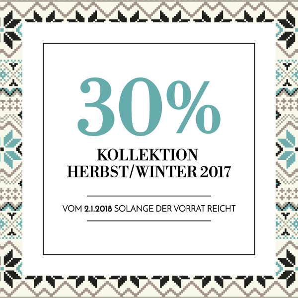 30% HERBST/WINTER 2017